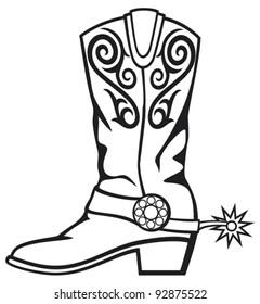 Cowboy Boots Images Stock Photos Vectors Shutterstock