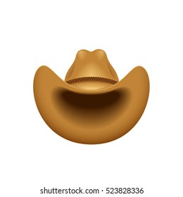 Cowboy hat - vector illustration