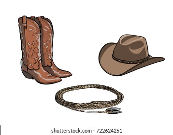 Cowboy horse equine riding tack tool. Western boot 0dc418d26954