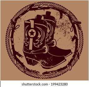 Cowboy Insignia