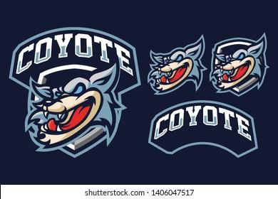 Coyote Sport Style Mascot Logo