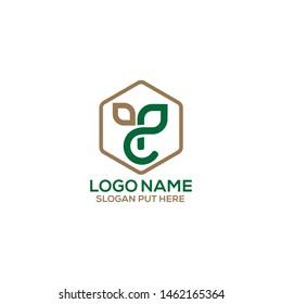 CP Letter Canna Pharma logo design