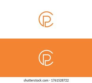 cp logo design vector format