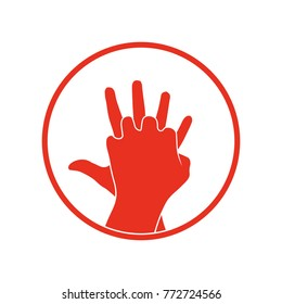 cpr icon. Vector clipart image isolated on white background