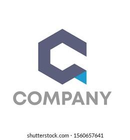 CQ logo vector design template
