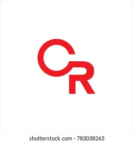 CR design for logo icon company brochure