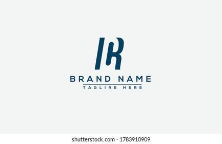 CR Logo Design Template Vector Graphic Branding Element.