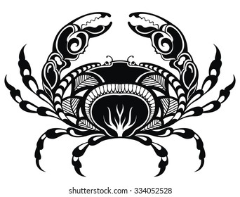 Cancer Zodiac Tattoo Images Stock Photos Vectors Shutterstock