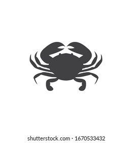 Crab graphic design template vector isolated