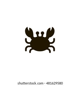 crab icon. crab design