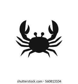 crab icon illustration isolated vector sign symbol