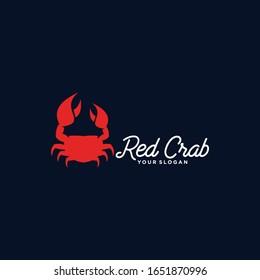 Crab Logo Idea Image Stock Vector