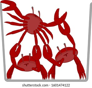 Crabs in a bucket with crab mentality