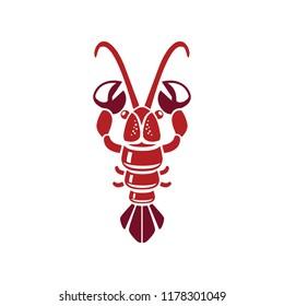 Crabs illustration- sea food - vector seafood