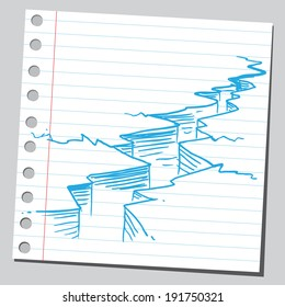 Earthquake Sketch Images Stock Photos Vectors Shutterstock