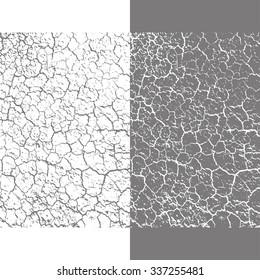 crackle texture. vector illustration