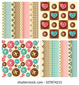 craft seamless pattern