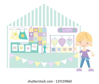Crafts- Market /Craft fair with stall holder