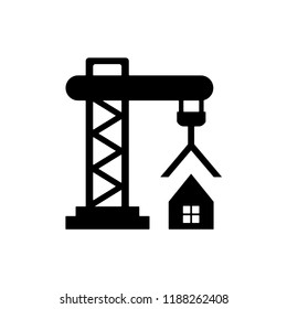 Crane construction vector