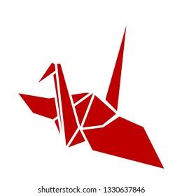 Crane of origami