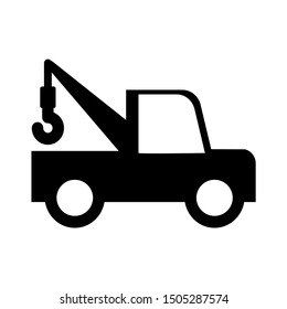 crane truck icon - From Transportation, Logistics and Machines icons set