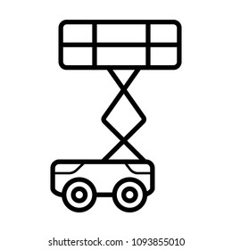 crane vector icon