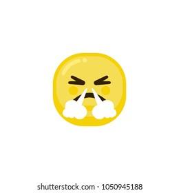 cranky Yellow Emoticon