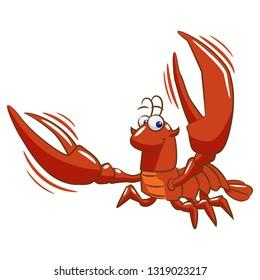 Crawfish Cartoon Images Stock Photos Vectors Shutterstock