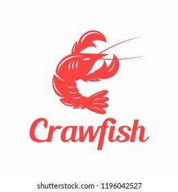 Crawfish / Lobster Logo Design