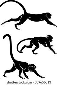 Crawling Monkeys Set