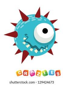 crazies - spiky ball