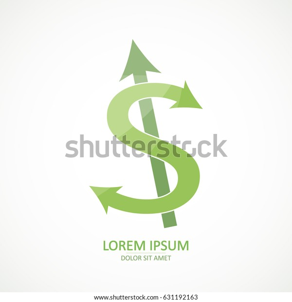 Crazy Green Dollar S Sign Icon Stock Vector (Royalty Free