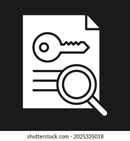 Creation, keyword generator, research icon vector image. Can also be used for Web Marketing. Suitable for use on web apps, mobile apps and print media.
