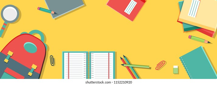 School Banner Images Stock Photos Vectors Shutterstock