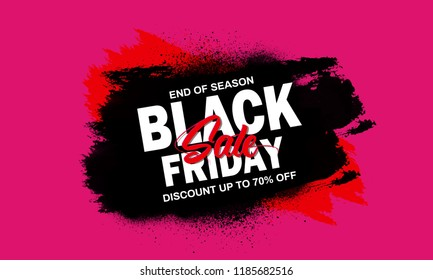 creative abstract banner for Black Friday Sale or Offer with creative design illustration, Black Friday Sale Discount. offers