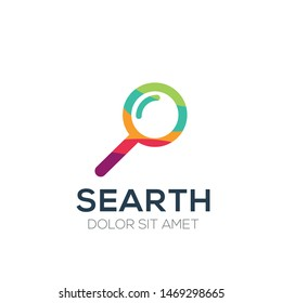 creative abstract colorful Logo ,Vector illustration