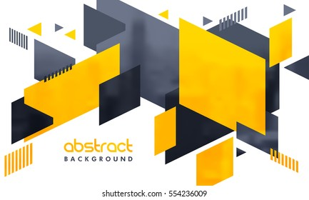 Creative abstract design decorated background.