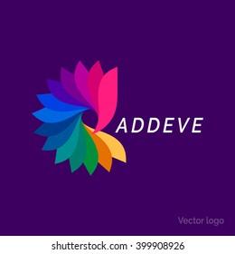 Creative abstract inspiration vector logo design template. Vector illustration