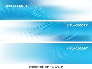Creative Abstract Vector Background Set