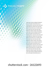 creative abstract vector template ...See my portfolio for more templates.
