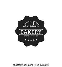 Creative Bakery Concept Logo Design Template, Badges