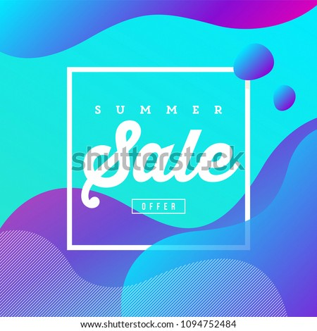 creative banner design fluid style colors stock vector royalty free