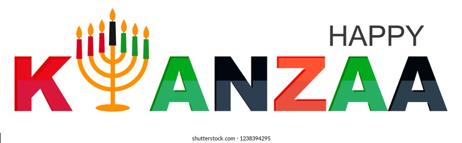 creative banner kwanzaa traditional colored 260nw