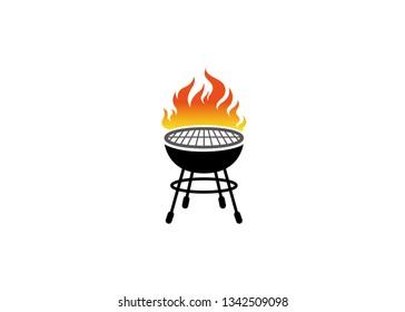 Creative Barbecue Logo