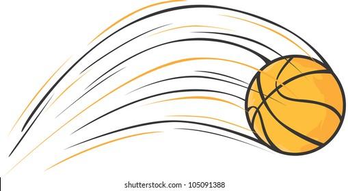 Creative Basketball Illustration