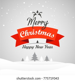 Creative and beautiful abstract for Merry Christmas with nice and creative design illustration.