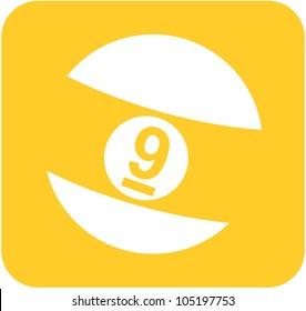 Creative Billiards Nine Ball Icon