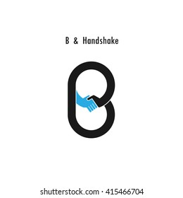 Creative B-letter icon abstract logo design vector template.Business offer,partnership icon.Corporate business and industrial logotype symbol.Vector illustration