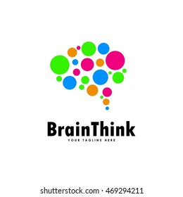 Creative Brain Logo Template