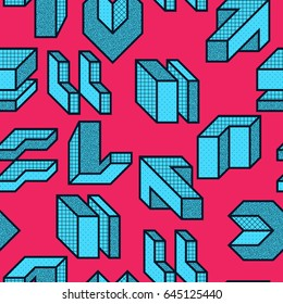 Creative bright colorful seamless patterns with abstract spots. Fashionable is ideal for textiles
